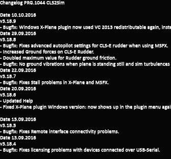 CLS2Sim Changelog